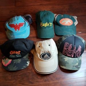 Baseball Hat or Cap Lot